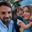 Alexia Mori, enceinte de son troisième enfant, est déjà maman de Louise et Margot, nées de ses amours avec son compagnon Stéphane Loubignac.