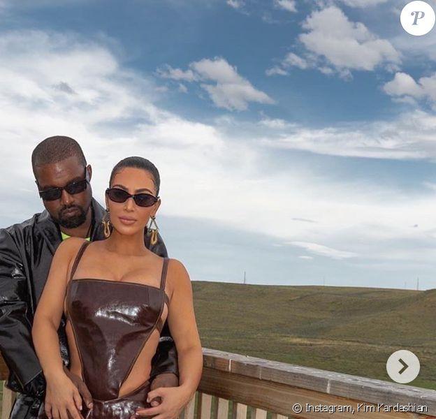Kanye West, Kim Kardashian et leurs 4 enfants, North, Saint, Chicago et Psalm.