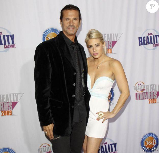 Lorenzo Lamas et sa fille Shayne Lamas lors de la soirée des Fox Reality Channel Really Awards au Misc Box à Hollywood le 13 octobre 2009