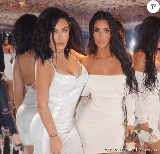 Hrush Achemyan et Kim Kardashian. Il y a deux ans.