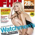 La ravissante Malin Akerman en couverture de  FHM  !