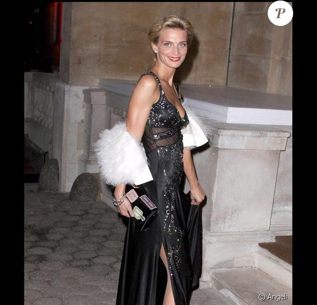 Sarah Marshall à la soirée d'anniversaire des 300 ans du magazine Tatler, le 14 octobre 2009