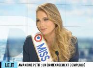 Amandine Petit : Grosse galère à son arrivée dans l'appartement des Miss, elle raconte