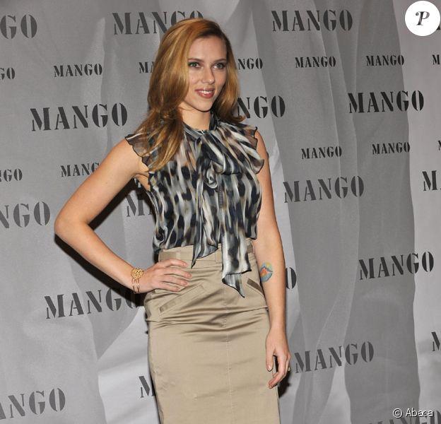 Scarlett Johansson en Allemagne à Munich pour la promotion de la marque de prêt-à-porter Mango le 15 octobre 2009 : tellement glamour !