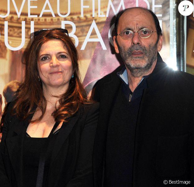 """Agnes Jaoui, Jean-Pierre Bacri - Avant-première du film """"Au bout du conte"""" de Agnès Jaoui au UGC Les Halles, Paris"""