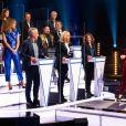 """""""Le Grand concours des animateurs"""" au profit de l'Opération Pièces Jaunes, présenté par Alessandra Sublet en présence de la première dame Brigitte Macron, le 22 janvier 2021 sur TF1."""