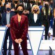 """Brigitte Macron dans """"Le Grand concours des animateurs"""" sur TF1, présenté pour la première fois par Alessandra Sublet, une édition spéciale Pièces Jaunes qui a permis de récolter 75 000 euros."""