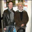 Pierre Richard et Jean-Luc Lemoine à la générale du spectacle Clinic. 15/10/09