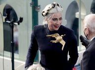 Lady Gaga : Tendre baiser avec son chéri Michael Polansky lors de la cérémonie d'investiture
