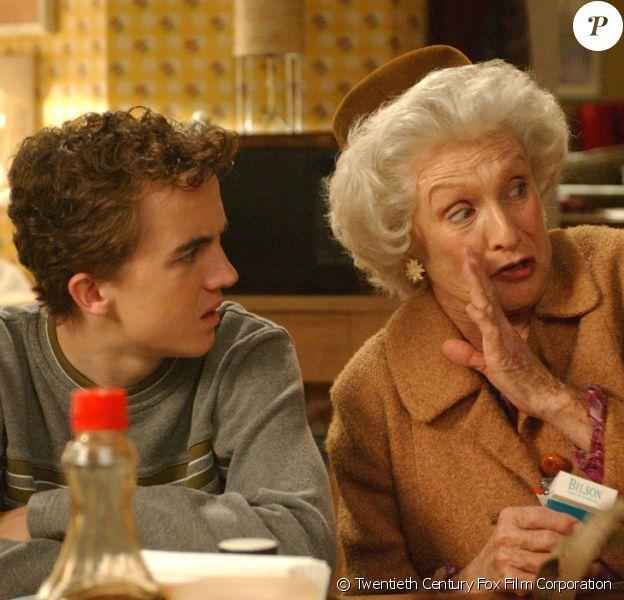 "Cloris Leachman, Frankie Muniz dans ""Malcolm""."