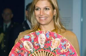 La princesse Maxima des Pays-Bas : Inséparable de ses trois fillettes et... toujours dans le vent !