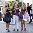 Stephanie Pratt avec Lauren Lo Bosworth et Audrina Patridge faisant du shopping à L.A.