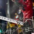 Vendée Globe 2020 Yannick Bestaven vainqueur au terme d'un final inédit et haletant depuis le 8 novembre APIVIA Vendée globe 2020 la seule course à la voile autour du monde en solitaire, sans escale. le 27 janvier 2021