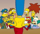 La très sexy Marge Simpson se montre full frontal dans Playboy !