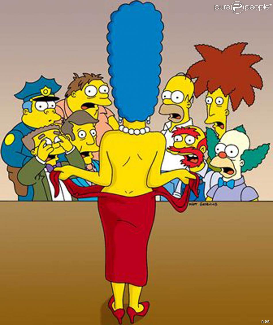 Simpsons sexy marge