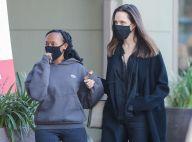 Angelina Jolie : Sa fille Zahara 16 ans, fait déjà (presque) sa taille !
