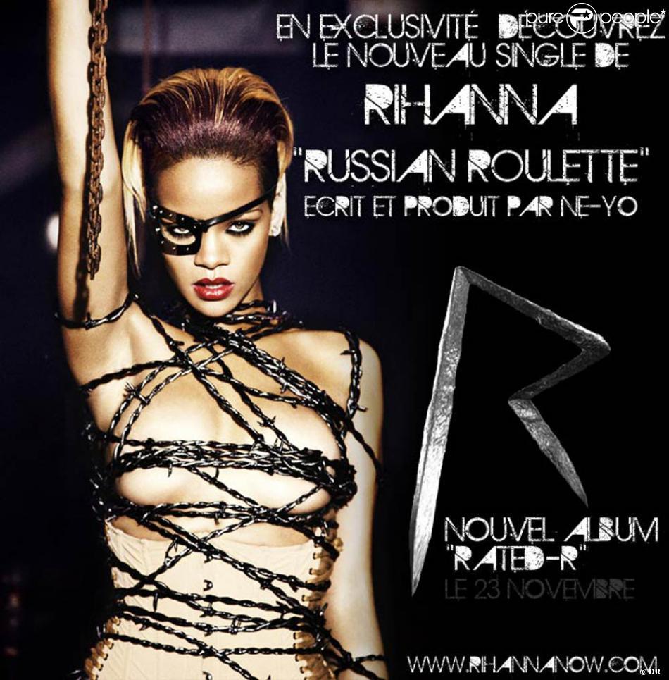 Regardez Rihanna, trs sexy, jouer la roulette russe