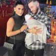 Tarek Benattia et sa femme Camélia sont devenus les parents d'un petit Liaam, né le 11 novembre 2020 - Instagram