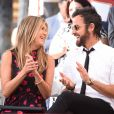 Jennifer Aniston et son mari Justin Theroux - Jason Bateman reçoit son étoile sur le Walk of Fame à Hollywood, le 26 juillet 2017.