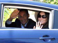 Nicolas Sarkozy et Carlita sont arrivés au Cap Nègre... pour deux semaines de vacances ! Ca va bien la vie pour eux...