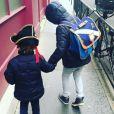 Elodie Frenck partage une rare photo de ses deux enfants, Abel (né en 2011) et Esteban Abraham (né en 2017) - Instagram