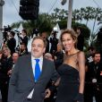 """Didier Bourdon et sa femme Marie-Sandra - Montée des marches du film """"Douleur et Gloire"""" lors du 72ème Festival International du Film de Cannes. Le 17 mai 2019 © Borde / Bestimage"""