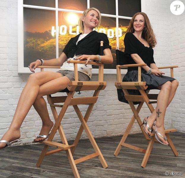Cameron Diaz et Drew Barrymore en cire chez Mme Tussaud