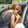 Exclusif - Halle Berry a souhaité un joyeux anniversaire à sa fille Nahla.