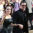 Angelina Jolie, Brad Pitt - Arrivée des people à la première du film Maleficient à Hollywood, le 29 mai 2014.