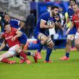 Charles Ollivon lors du match de rugby France vs Pays de Galles, le 24 octobre 2020. © JB Autissier/Panoramic/Bestimage