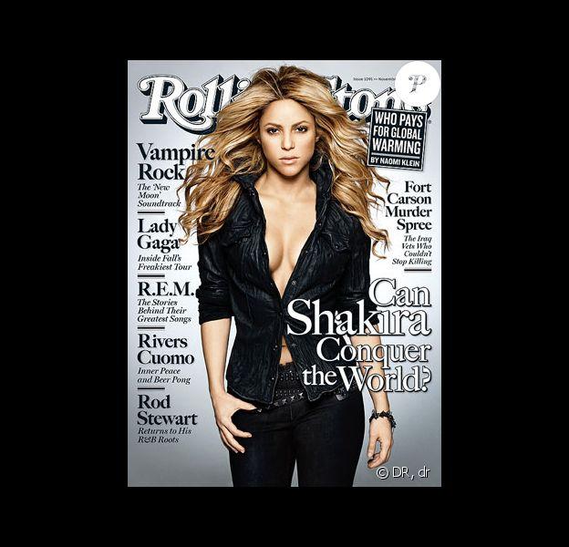 Shakira en couverture du magazine Rolling Stone
