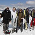 Stomy Bugsy, David Desclos, Thierry Frémont, Alexandre Brasseur, Charlotte Boisselier, Arthur Jugnot - Les stars du rire participent au 37e Festival Mont-Blanc d'Humour à Saint-Gervais. Le 21 mars 2021.