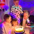 Jacques et Gabriella de Monaco fêtent leurs 6 ans avec leur père le prince Albert et leur mère la princesse Charlene, le 6 décembre 2020.