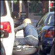 L'accident de Bradt Pitt, seconde par seconde... Chapeau l'artiste !