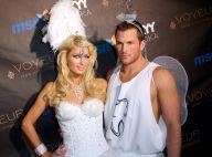 Paris Hilton et Doug Reinhardt : Ils ont complétement loupé... leurs costumes d'Halloween ! Qu'ils sont vilains !