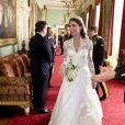 Kate Middleton au palais de Buckingham, après son mariage avec le prince William, le 29 avril 2011.