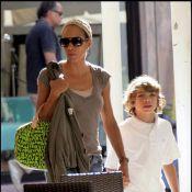 L'ex-femme de Boris Becker, le top Barbara Feltus... en tête-à-tête avec leur adorable fils !