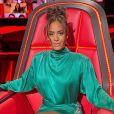 """Amel Bent dans l'émission """"The Voice"""" sur TF1."""