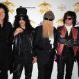 Brian May (Queen), Slash (Guns and Roses), Billy Gibbons (ZZ Top), Jeff Beck et Joe Perry (Aerosmith) à la cérémonie des Classic Rock Awards, le 2 novembre à Londres !