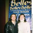 Philippe Candeloro et sa femme Olivia - Archives 2003
