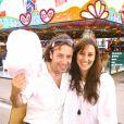 Archives - Philippe Candeloro et et son epouse Olivia en 2008