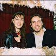Philippe Candeloro et sa femme Olivia - Archives Paris