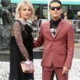 Rami Malek et Lucy Boynton au défilé de mode Miu Miu à Paris le 6 juin 2018 © CVS / Veeren / Bestimage
