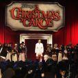 Andrea Bocelli, à l'occasion de l'avant-première mondiale du  Drôle Noël de Scrooge , qui s'est tenue en plein coeur de Londres, le 3 novembre 2009.