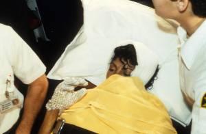 Michael Jackson et sa terrible brûlure durant la pub Pepsi : Découvrez les photos de son transfert à l'hôpital... et son témoignage !