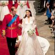 Mariage de Kate Middleton et du prince William d'Angleterre à Londres. Le 29 avril 2011