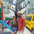 Nabilla voyage au Kenya avec Thomas Vergara et leur fils Milann, où ils ont rendu visite à un orphelinat avec des valises de cadeaux - Instagram