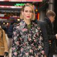 Sarah Paulson fait la promotion de son nouveau film  Glass  à New York, le 17 janvier 2019.