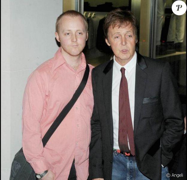 James McCartney et son père Sir Paul MCartney