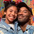 Kobe Bryant avec sa fille Gianna